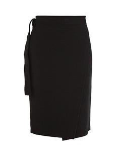 Proenza Schouler Wrap-style jersey pencil skirt