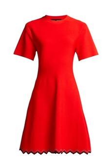 Proenza Schouler Zigzag-hem stretch-knit dress