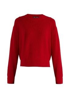 Proenza Schouler Zip-detail wool and cashmere-blend knit sweater