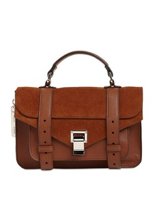 Proenza Schouler Ps1 Tiny Lux Leather Top Handle Bag