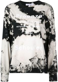 Proenza Schouler PSWL Bleach Splatter T-Shirt
