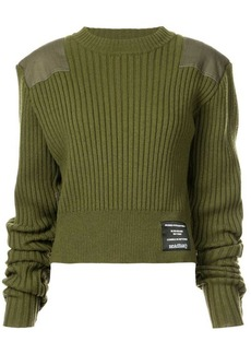 Proenza Schouler PSWL Patch Ribbed Sweater
