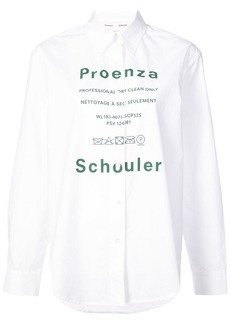 Proenza Schouler PSWL Care Label Shirt