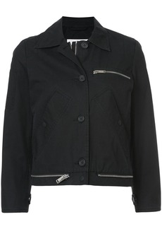 Proenza Schouler PSWL Collared Jacket
