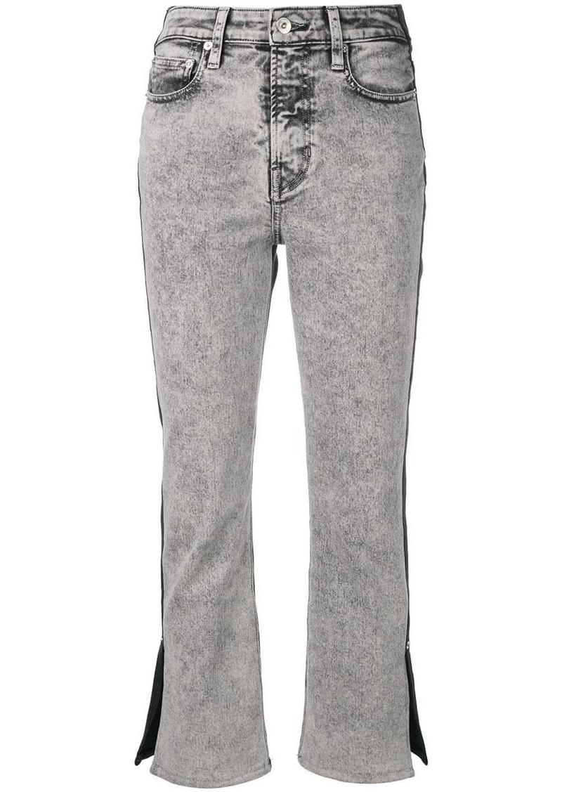 Proenza Schouler PSWL Colorblock Split Denim Jeans