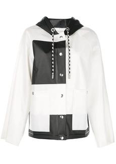Proenza Schouler PSWL Colorblocked Short Raincoat