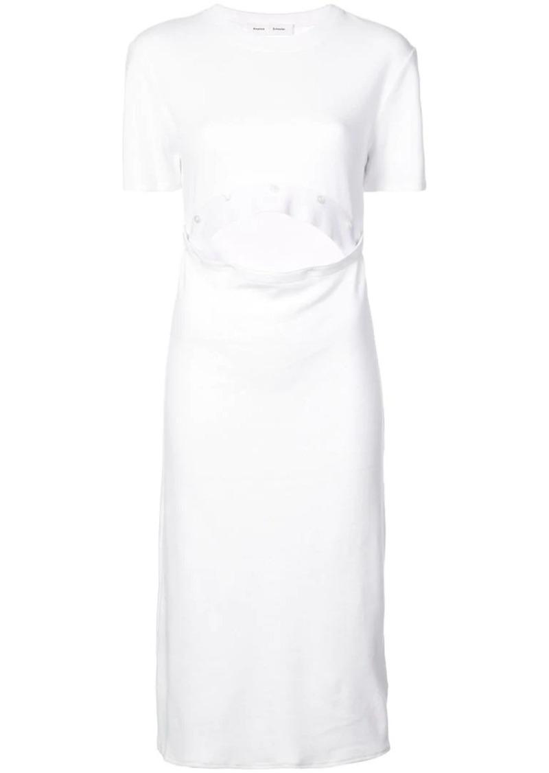 Proenza Schouler PSWL Button Up Dress