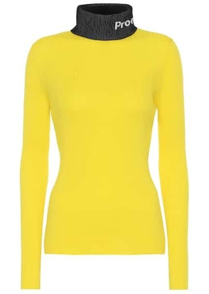 Proenza Schouler PSWL cotton turtleneck sweater