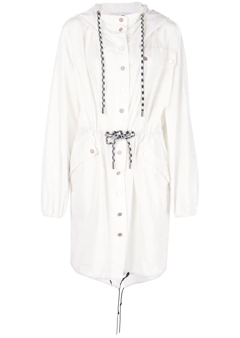 Proenza Schouler PSWL Crinkled Cotton Coat