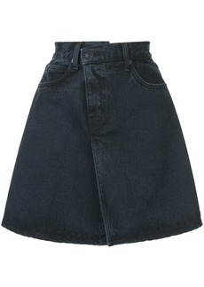 Proenza Schouler PSWL Denim Folded Skirt