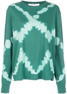 Proenza Schouler PSWL Diamond Tie Dye Long Sleeve T-Shirt