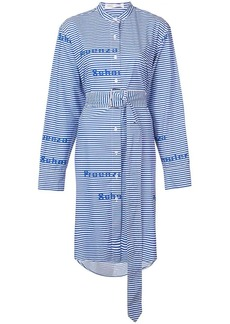 Proenza Schouler PSWL Graphic Button Down Dress