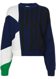 Proenza Schouler PSWL Graphic Jacquard Sweater