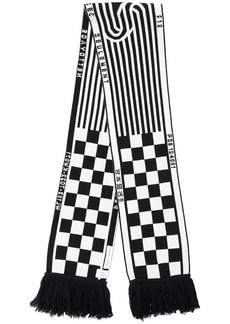 Proenza Schouler PSWL Checkerboard Knit Scarf