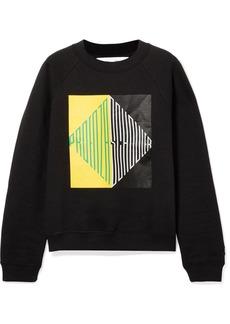 Proenza Schouler Pswl Printed Cotton-jersey Sweatshirt