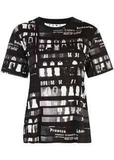 Proenza Schouler PSWL Run of Show Short Sleeve T-Shirt