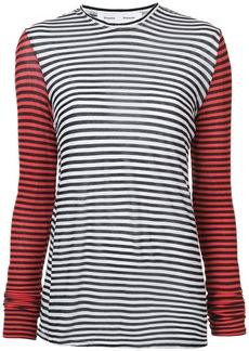 Proenza Schouler PSWL Striped Jersey Top