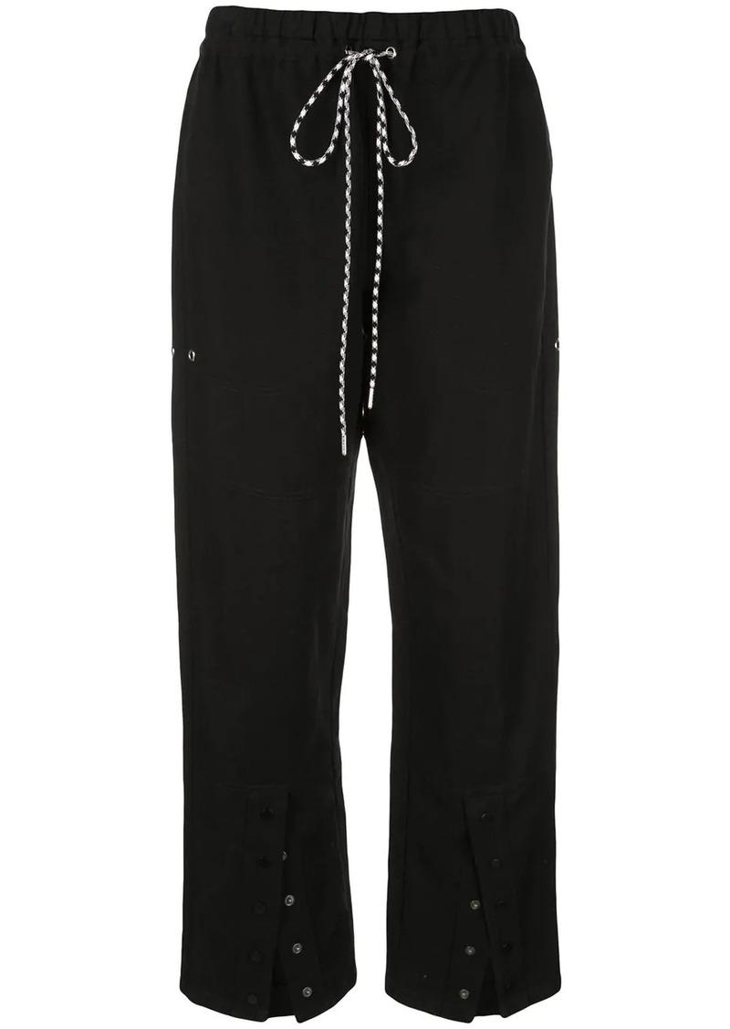 PSWL Washed Linen Drawstring Pants