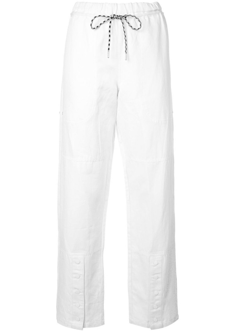 PSWL drawstring straight trousers