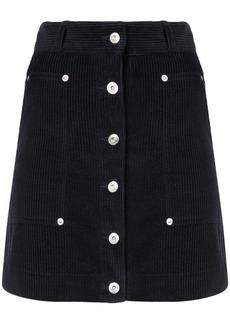 Proenza Schouler PSWL Wide Wale Corduroy Skirt