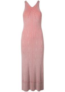 Proenza Schouler Sleeveless Rib Knit Long Dress