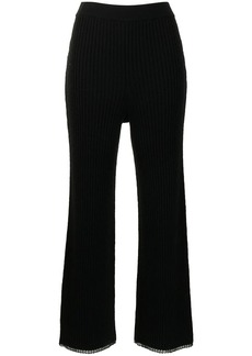 Proenza Schouler ribbed-knit trousers