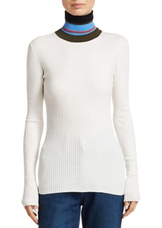 Proenza Schouler Ribbed Knit Turtleneck