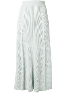 Proenza Schouler ribbed knitted skirt