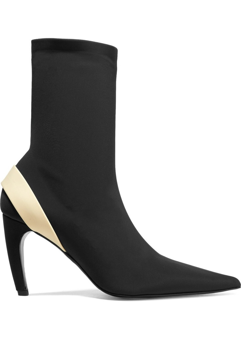 Proenza Schouler Rubber-trimmed Stretch-knit Sock Boots