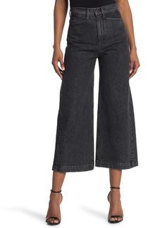 Proenza Schouler Sand Denim High Waist Culotte Jeans