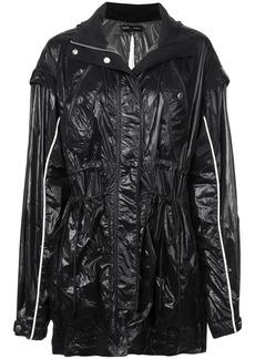 Proenza Schouler Shiny Nylon Tied Jacket
