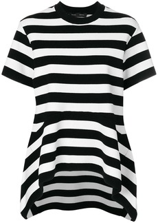 Proenza Schouler Short Sleeve Flare Knit Top