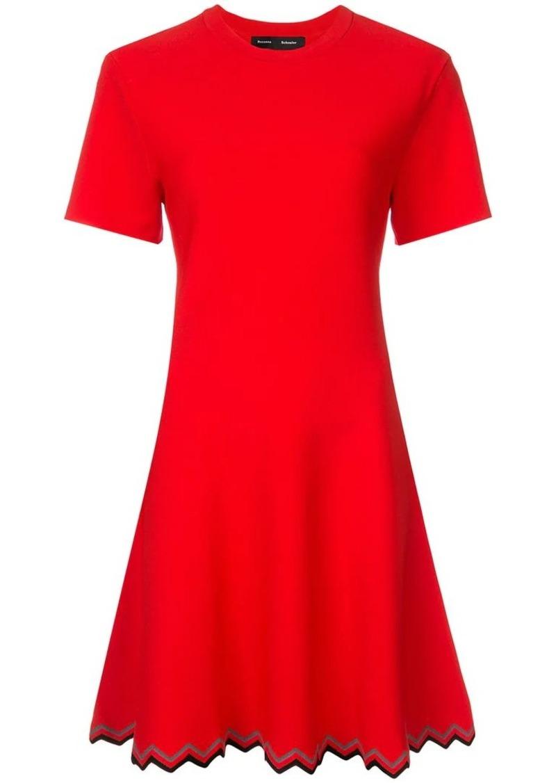 Zig Zag Knit Dress