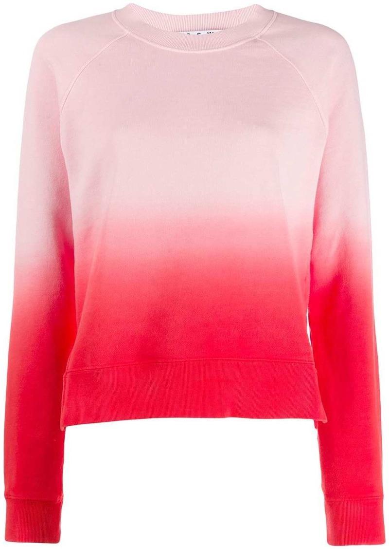 Proenza Schouler tie-dye gradient sweatshirt