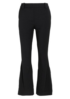 Proenza Schouler Side Slit Cropped Flare Pants