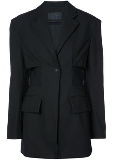 Proenza Schouler Single Breasted One Button Jacket