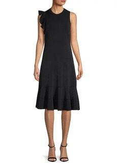 Proenza Schouler Sleeveless Ruffled Dress