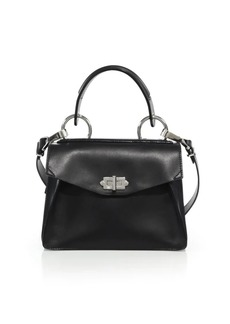 Proenza Schouler Small Hava Leather Top-Handle Satchel