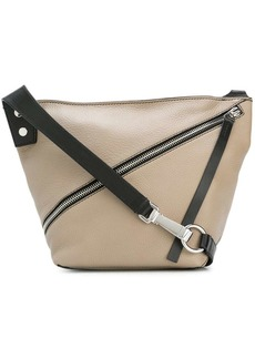 Proenza Schouler Small Pebbled Leather Zip Hobo