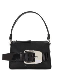 Proenza Schouler Small Textured Leather Top Handle Bag