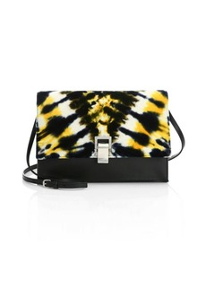 Proenza Schouler Small Velvet Tie-Dye Lunch Bag