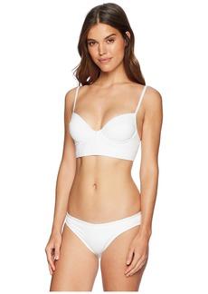 Proenza Schouler Solids Two-Piece Bikini Set w/ Underwire Top, Adjustable Straps & Classic Bottom
