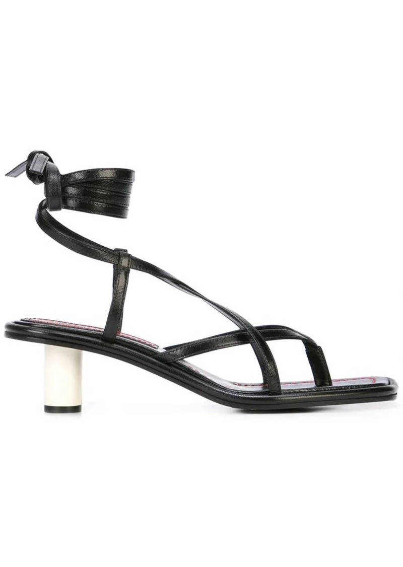 Proenza Schouler Strappy Mid Heel Sandals