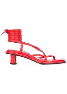 acf0772523f Proenza Schouler Proenza Schouler Rubber Strap Patent Kitten Heel ...