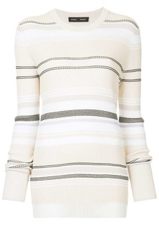 Proenza Schouler striped fitted sweater