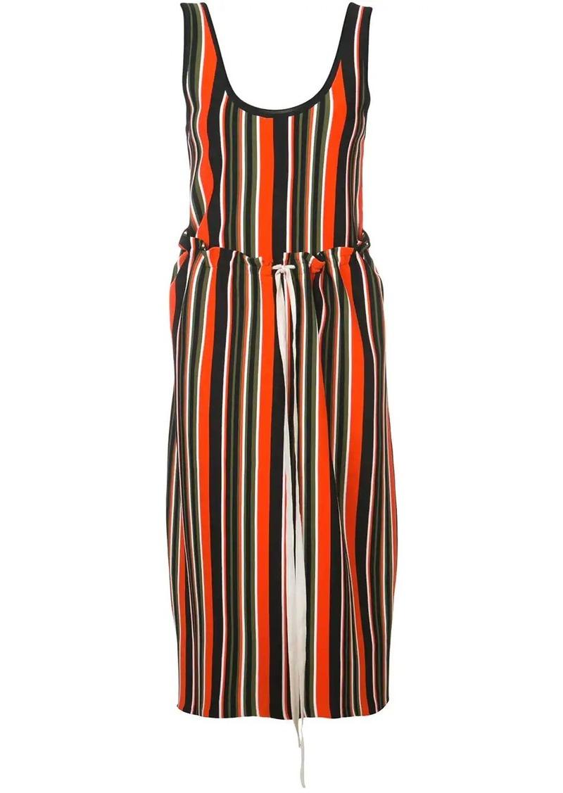 Proenza Schouler Striped Knit Tank Dress