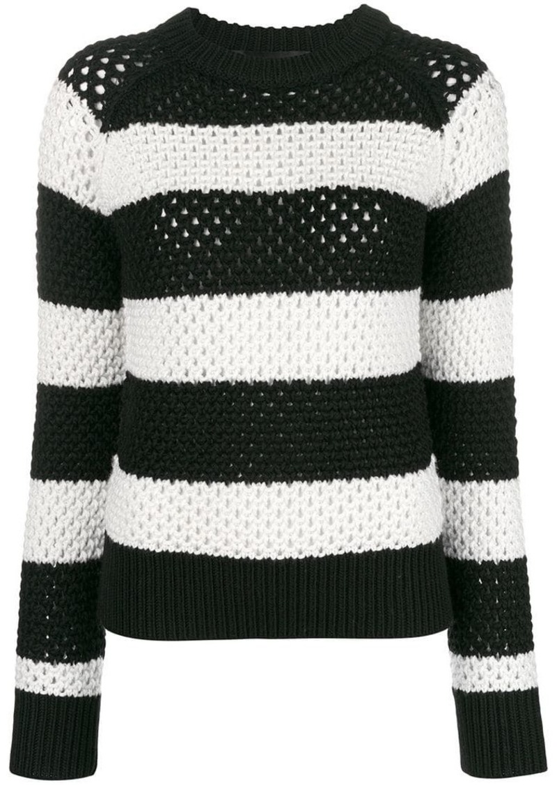 36563e38ff9f Proenza Schouler striped long-sleeve sweater