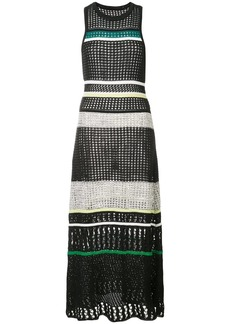 Proenza Schouler Striped Knit Dress