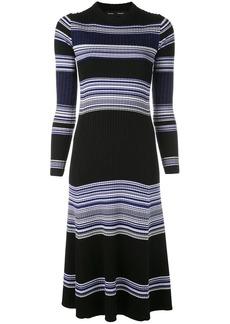 Proenza Schouler Striped Rib Maxi Dress