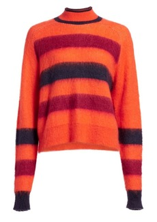 Proenza Schouler Striped Turtleneck Sweater